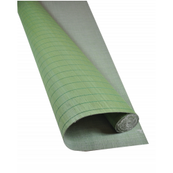 Green Tatami Bamboo mat 4.5 mm Glued on textile