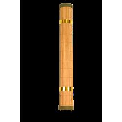 Carpet Bamboo mat Brown fringe