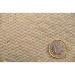 Chevron mat Rattan Core Webbing