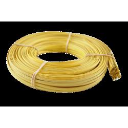 Yellow flat oval core