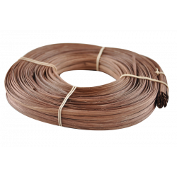 Brown flat oval core
