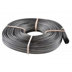 Black flat oval core