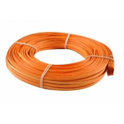 Orange flat oval core