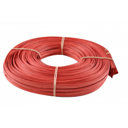 Red flat oval core