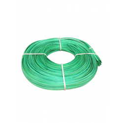 Green flat oval core