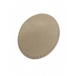 Plywood back oval