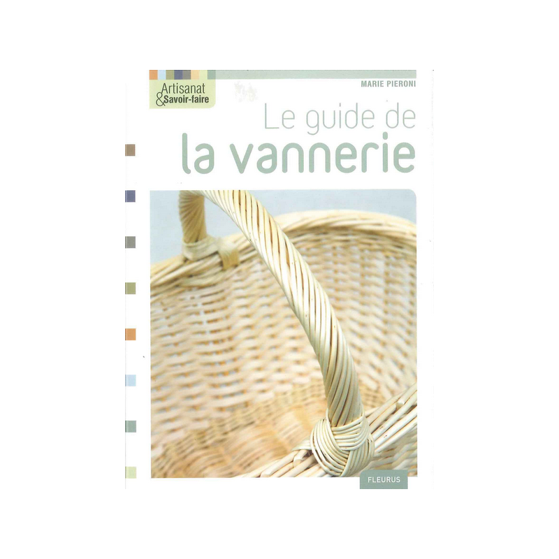 Livre Le Guide la Vannerie