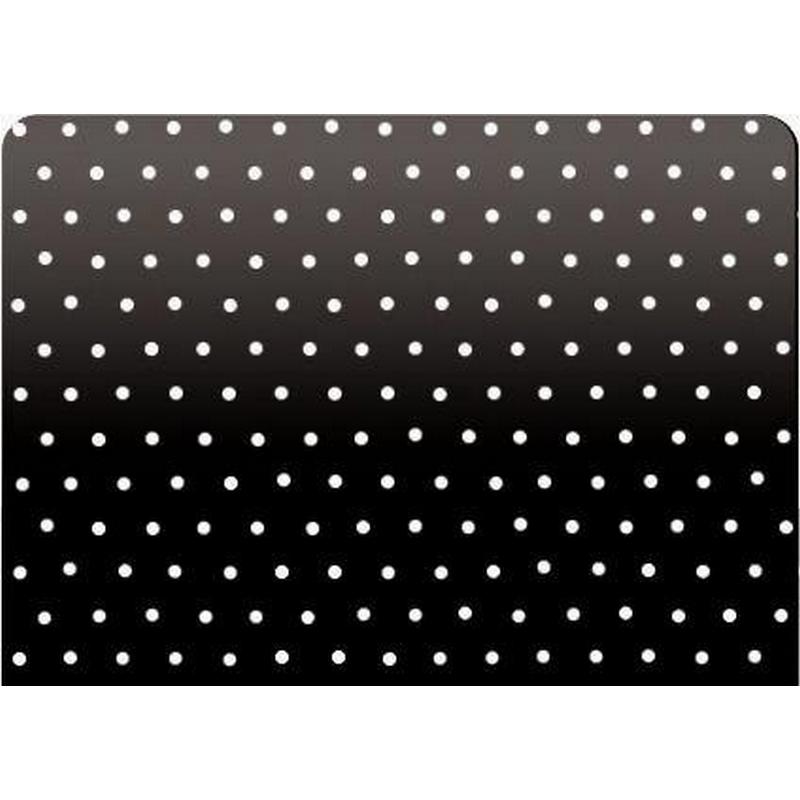 Black Micro Perforated Aluminum Blind 25mm