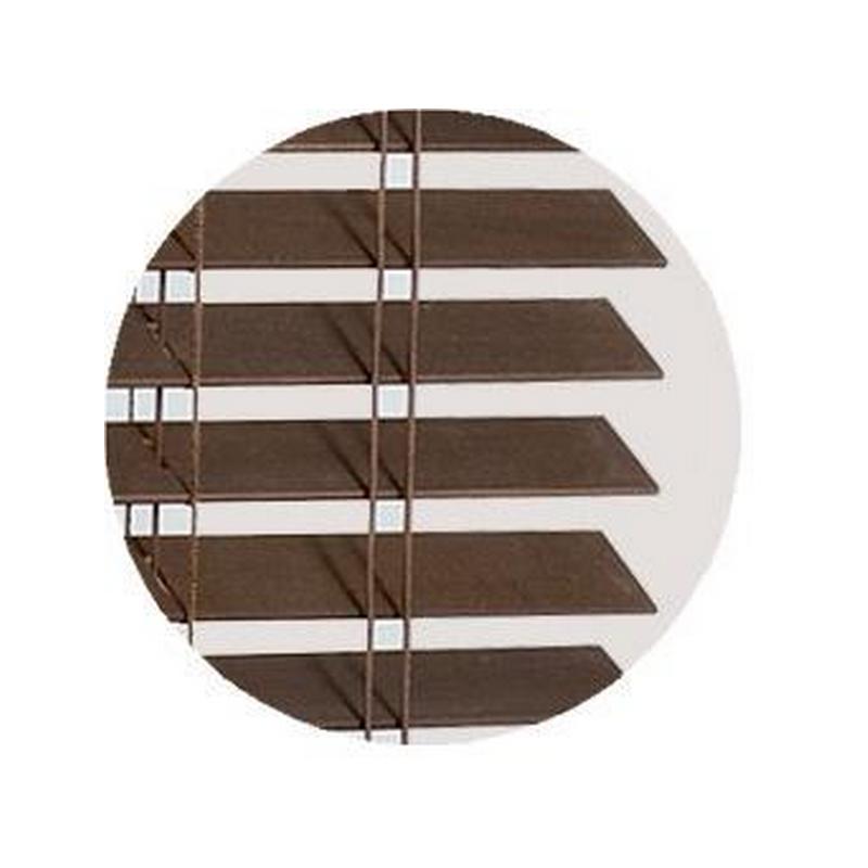 Wengé Wood Blind slat  35mm