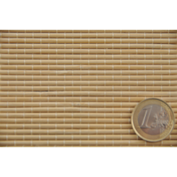 Bamboo mat right tie
