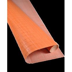 Bamboo mat Glued on textile 7mm Orange color