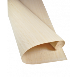 Natte Bambou 7mm sur Tissu Sans Fil 180cmx500cm
